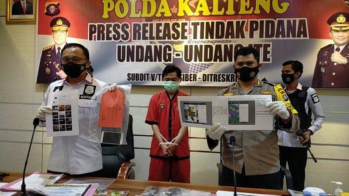 VIDEO Tebar Kebencian di Medsos, Pengangguran Asal Murungraya Kalteng