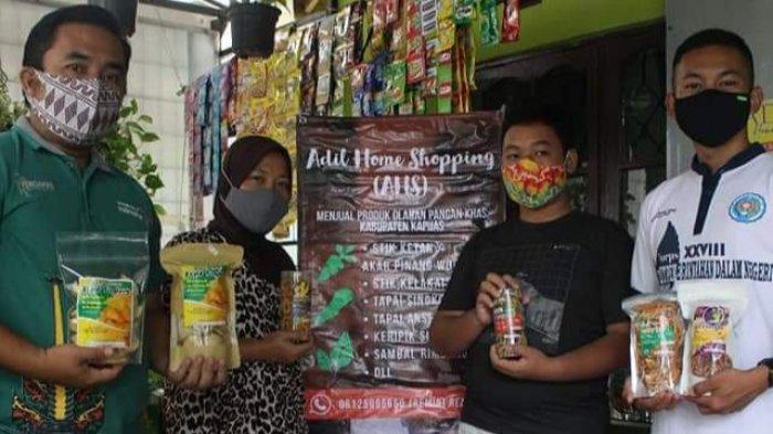 Di Kapuas Kalteng, Produk UMKM Dipasarkan Secara Digital