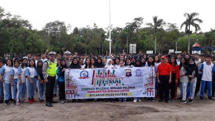 Ditlantas Polda Kalteng Gelar Millennial Road Safety Festival, Catat Ini Waktu dan Tempatnya