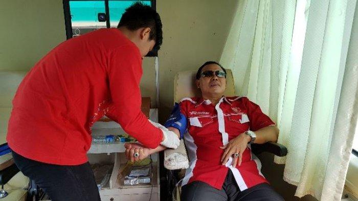 Seratusan Kader PKPI Sedot Darah Ramai-ramai