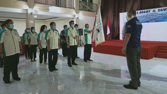 Pelantikan Kepengurusan Tiga DPC PPKHI Digelar di Kapuas, Ini Harapan Ketua Dewan Pembina