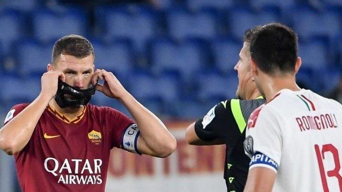 Edin Dzeko Bermain Cemerlang, AS Roma Naik ke Peringkat 5 Klasemen Liga Italia Usai Tekuk AC Milan