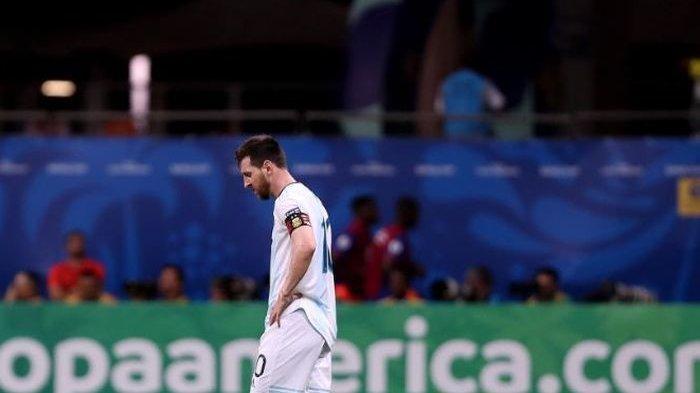 Takluk oleh Timnas Kolombia, Lionel Messi Sebut Argentina Masih Bisa Lolos di Copa America 2019