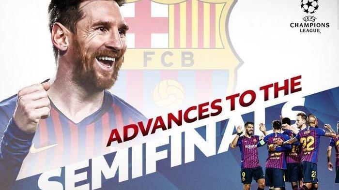 Barcelona Vs Liverpool dan Ajax Vs Tottenham, Berikut Jadwal Laga Semifinal Liga Champions