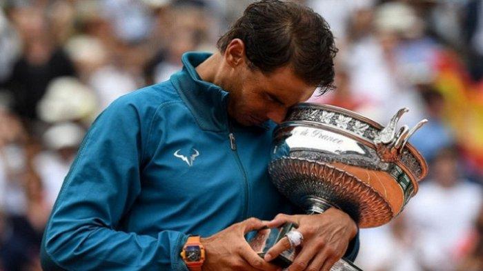 Rafael Nadal Tak Percaya Raih Kemenangan ke-11 Kejuaraan Tenis di Roland Garros