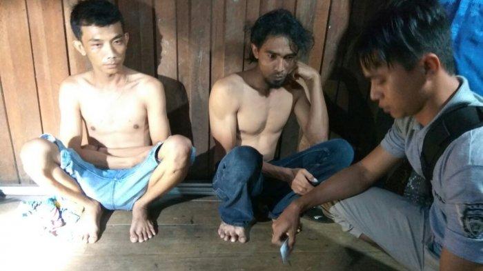 Dua Warga Pembuang Hulu Ditangkap Saat Pesta Sabu