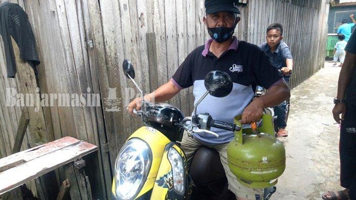 Kelangkaan Elpiji Kalsel, Gas Melon di Kotabaru Kalsel Mulai Stabil