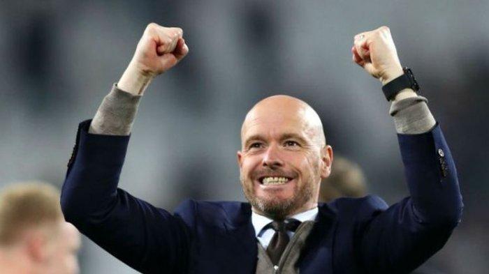 Liga Belanda - Ajax Amsterdam Kembali Dilatih Erik Ten Hag Hingga 2022