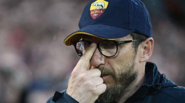 AS Roma Terpuruk Musim Ini, Sang Pelatih Eusebio Di Francesco Pun Diberhentikan