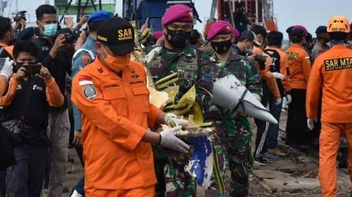 Titik Lokasi Jatuhnya Pesawat Sriwijaya Air SJ-182 Telah Berhasil Ditemukan