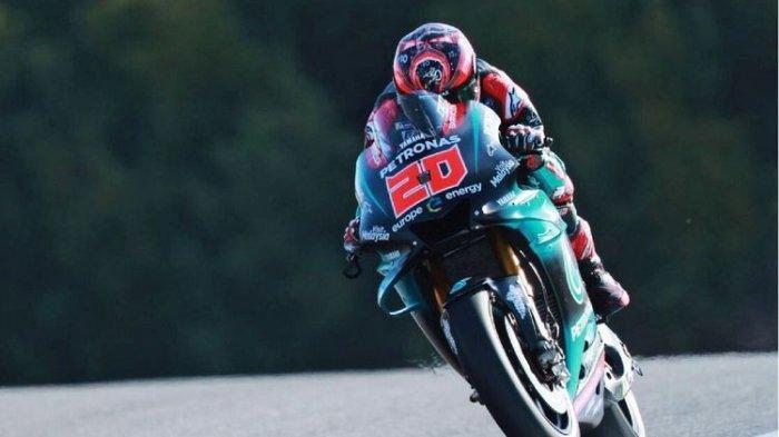 Hasil Kualifikasi MotoGP Spanyol 2020 di Sirkuit Jerez : Fabio Quartararo Jadi yang Tercepat