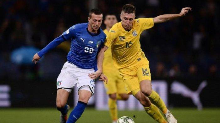Kontra Ukraina, Italia Kembali Tak Raih Kemenangan untuk yang Ke-5 Kalinya di Laga Persahabatan