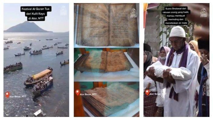 Al Quran dari Kulit Kayu Berumur 1.500 Tahun Ini Sedot Perhatian Netizen, Viral di Medsos