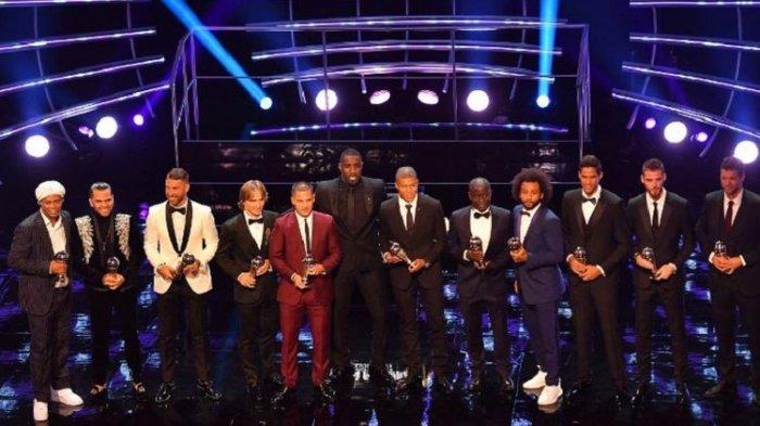 Tanpa Kiper Terbaik Dunia, Ini Starting XI Terbaik FIFA FIFPro World XI pada 2018