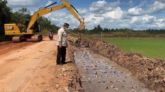 Food Estate di Kalteng, Infrastruktur Jalan Rp 600 Miliar Target Selesai Akhir 2021