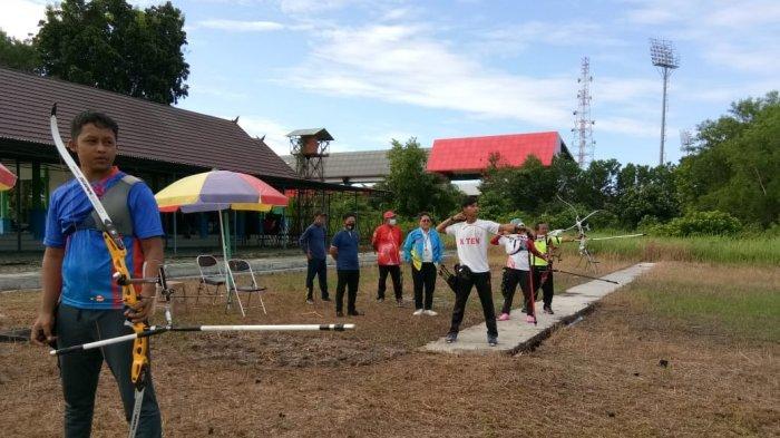 Usai Bertanding di PON XX Papua Atlet Panahan dan Baseball Putra Kembali ke Kalimantan Tengah