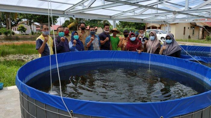 Dinas Perikanan Kapuas Kalteng Bantu Bioflok ke Warga