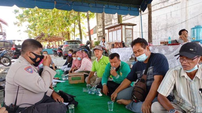 Debit Air Surut, Warga Flamboyan Bawah Palangkaraya Mulai Kembali ke Rumah