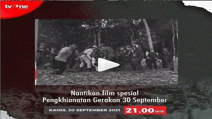 Jadwal Film G30S PKI di MNC TV dan TVOne, Jelang Hari Kesaktian Pancasila 2021