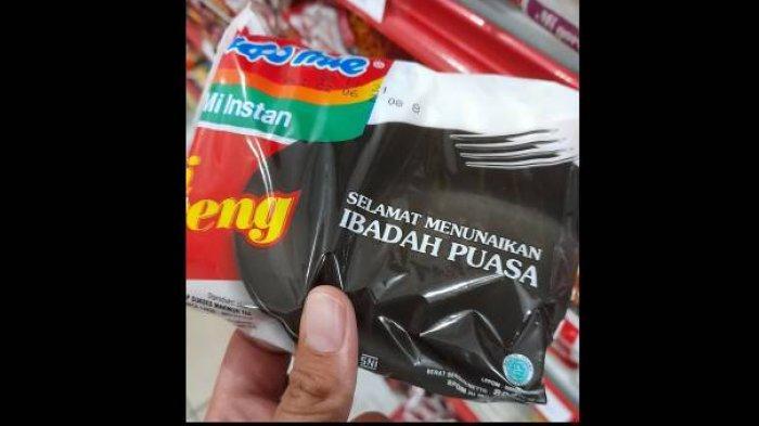 Bungkus Indomie Edisi Selamat Berpuasa Ramadhan Jadi Viral di Twitter, Lihat Penampakannya