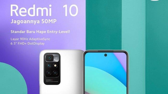 Update Daftar Harga HP Xiaomi Terbaru di Akhir September, Ini Spesifikasi Redmi 10 Kamera 50 MP