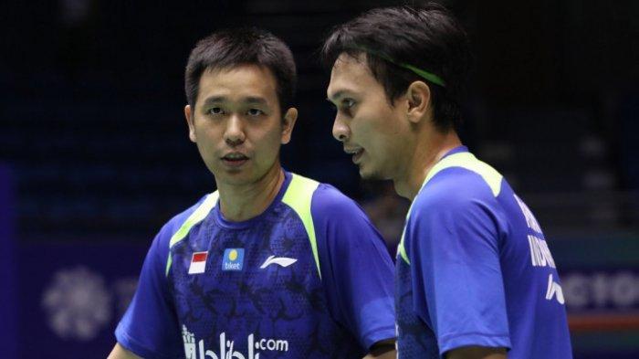 Laga Final Kejuaraan Dunia 2013 Tersebut Kembali Dimenangi Mohammad Ahsan/Hendra Setiawan