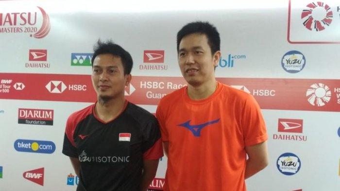 Hasil Indonesia Masters 2020- Kalahkan Unggulan, Ahsan/Hendra Mengaku Lega Lewati Laga Krusial