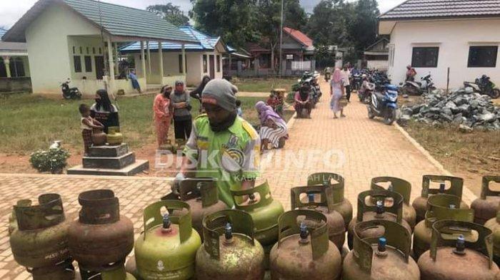 Harga Gas Melon di Tala Kalsel Dua Kali Lipat, Warga Keluhkan Ini