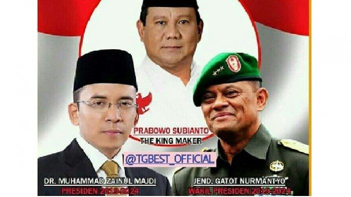 Foto Gatot Nurmantyo, Tuan Guru Bajang dan Prabowo Beredar di Instagram, Mau Ikut Pilpres 2019?