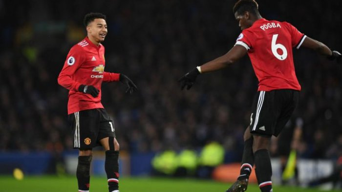 Manchester United Tekuk Everton dengan Dua Gol Tanpa Balas