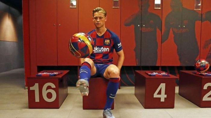 Liga Spanyol - Klub Ini Impian Awal Frenkie de Jong Keluar dari Ajax Amsterdam, Bukan FC Barcelona