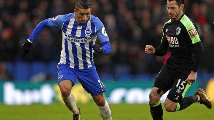 Pemain Brighton & Hove Albion Cetak Gol Pertama di Tahun 2018, Berikut Hasil Lengkap Pekan ke-22