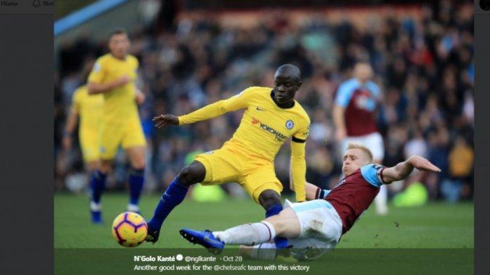 Maurizio Sarri Berang dengan N'Golo Kante Setelah Chelsea Dikalahkan Tottenham Hotspur