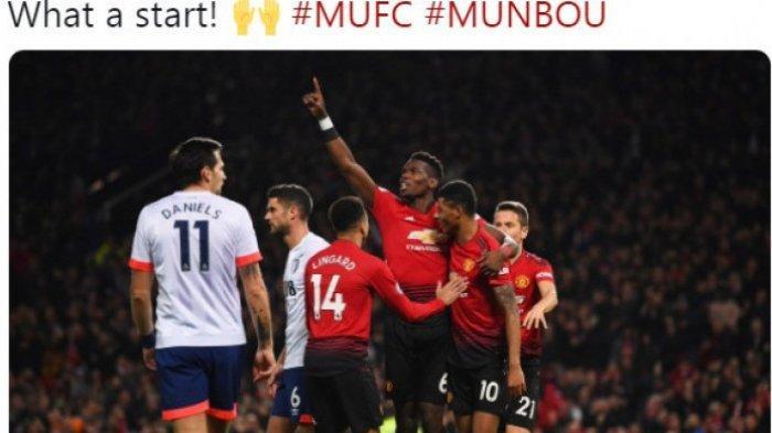 Hasil Liga Inggris, Manchester United Tampil Mendominasi Hingga Tekuk Bournemouth 4-1