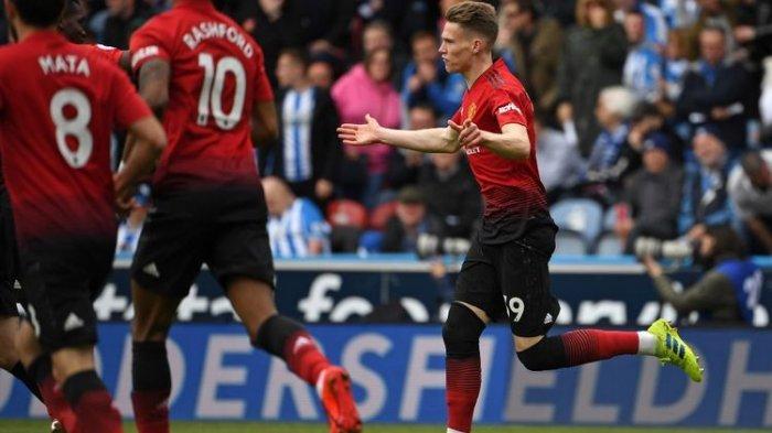 Hasil Liga Inggris - Tuan Rumah Huddersfield Town Imbangi Manchester United Skor 1-1