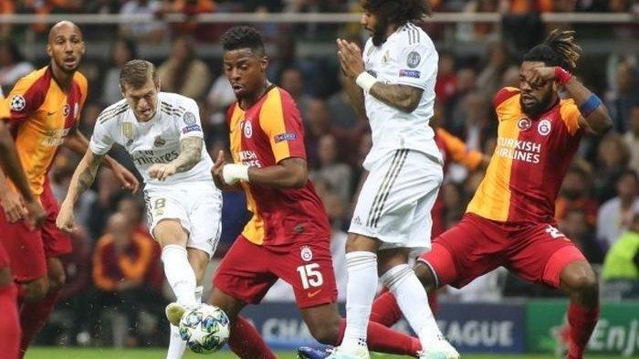 Grup A Liga Champions - Gol Tunggal Toni Kroos Bawa Kemenangan Real Madrid Saat Kontra Galatasaray