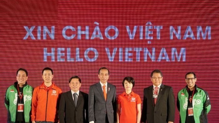 Gojek Ekspansi ke Vietnam, Presiden Jokowi Resmikan Grand Launching Go-Jek di Vietnam