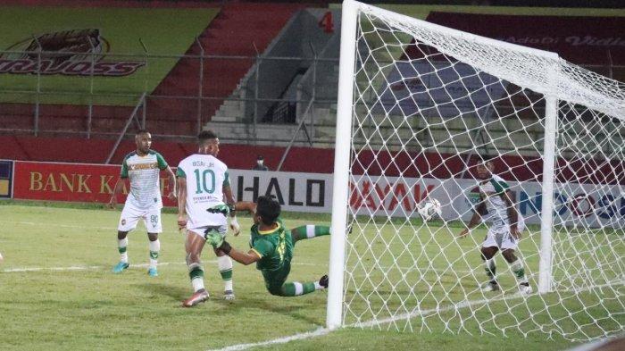 Hasil Kalteng Putra vs Persewar Babak Pertama:  Sundulan Takwir Selamatkan Tuan Rumah, Skor 1-1