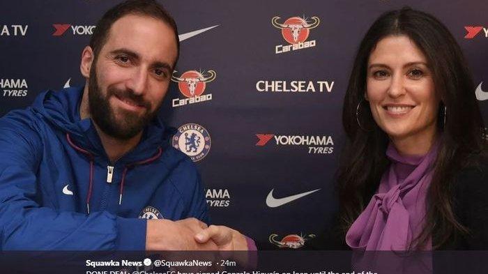 Dari AC Milan, Gonzalo Higuain, Pemain Pinjaman Juventus Ini Resmi Pindah ke Chelsea