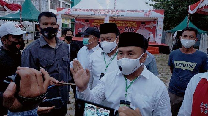 Kasus Covid-19 di Kalteng Makin Meningkat, Gubernur Kalteng Pimpin Rakor PPKM Mikro di Kalteng
