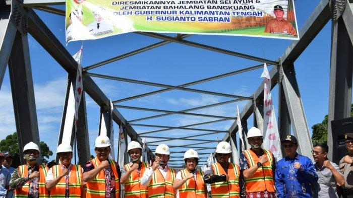 Isu Ketimpangan Pembangunan Mencuat Jelang Pilgub Kalteng, Gubernur & Wakil Kunker ke DAS Barito