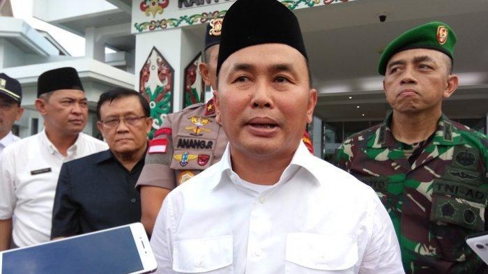 Gubernur Sugianto Larang Pejabat Keluar Daerah Jelang Pelantikan Presiden, Fairid Gelar Pertemuan