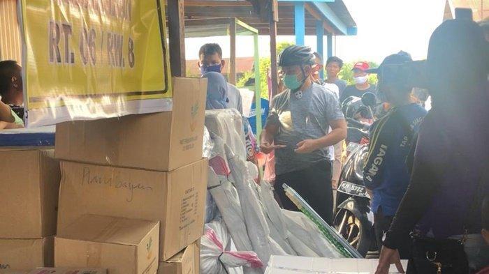 Gubernur Kalteng Beri Bantuan untuk Korban Kebakaran di FLamboyan Palangkaraya