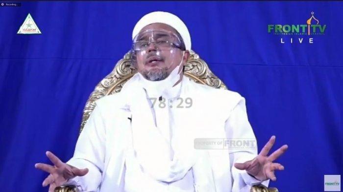Imam Besar FPI Rizieq Shihab Jadi Tersangka Kasus Kerumunan di Petamburan