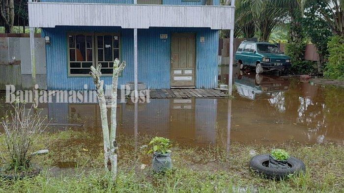 Warga Sampit Waswas Banjir Datang Lagi dan Merendam Rumah