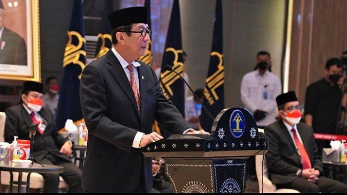 Kemenkumham RI menggelar acara Doa Kemenkumham Lintas Agama untuk Negeri dipimpin Menkumham Yasona A Laoly, Jumat (1/10/2021)