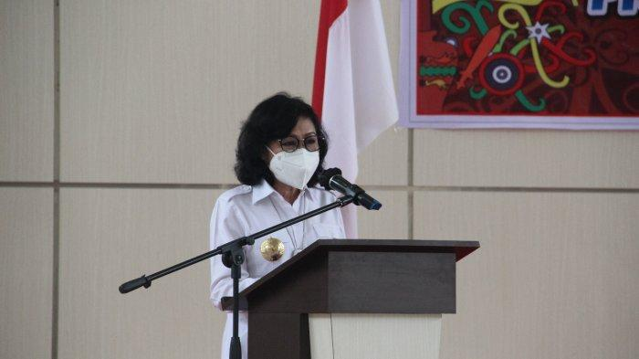 Kanwil Kemenkum HAM Kalteng melaksanakan kegiatan Pengukuhan Desa/Kelurahan Sadar Hukum Provinsi Kalimantan Tengah Tahun 2021 yang ada di Kabupaten Pulang Pisau, Rabu (29/09/2021)