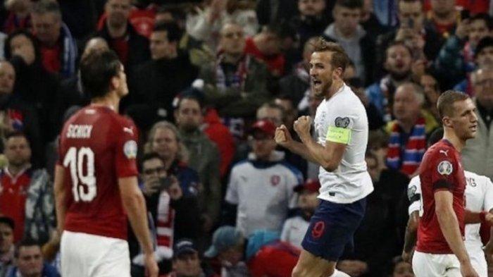 Tuan Rumah Timnas Inggris Menang 5 Gol Tanpa Dibalas Cekoslovakia di Kualifikasi Piala Eropa 2020