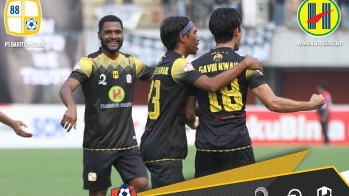 Hasil Akhir PSS Sleman vs Barito, Skor Akhir PSS Sleman vs Barito Putera 2-2 Liga 1, Gavin Pahlawan