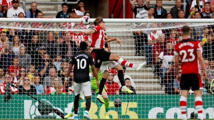 Hasil Akhir Southampton vs Manchester United di Liga Inggris Skor Akhir 1-1, MU Gagal Menang